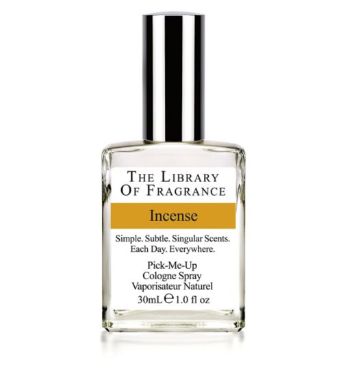 The Library of Fragrance Incense Eau de Toilette 30ml