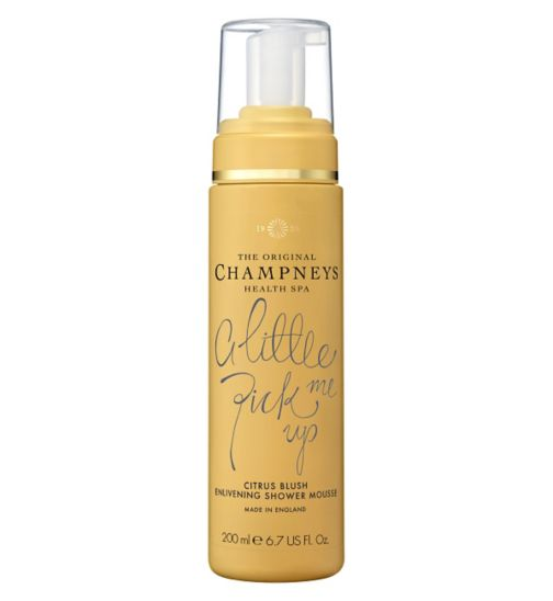 Champneys Citrus Blush Enlivening Shower Mousse 200ml