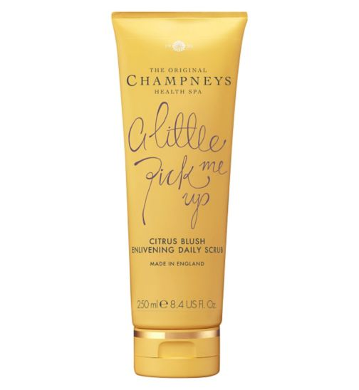Champneys Citrus Blush Enlivening Daily Scrub 250ml