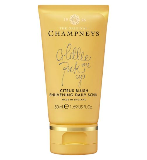 Champneys Citrus Blush Enlivening Daily Scrub 50ml