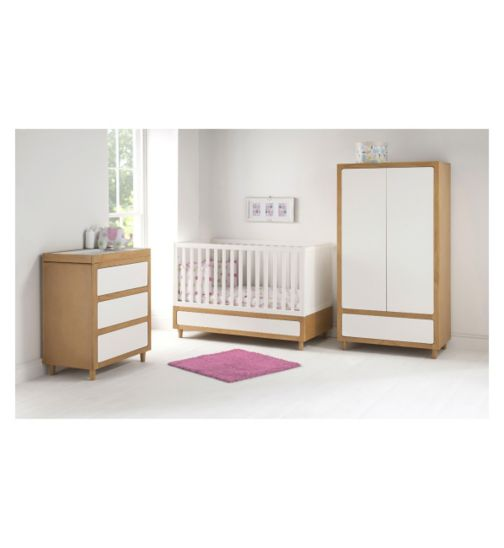 East Coast Monaco 3 Piece Nursery Room Set