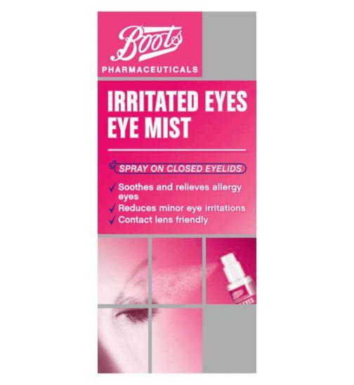 Boots Pharma   Irritated Eyes eye mist 1