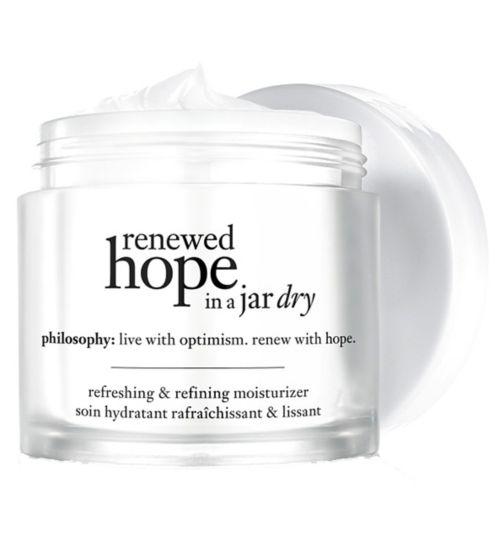 Philosophy renewed hope in a jar dry refreshing & refining moisturizer 60ml