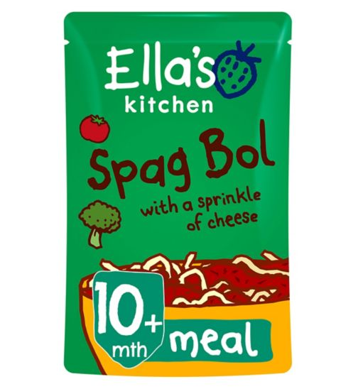 Ella's Kitchen Lip Smacking Spag Bol with a Sprinkle of Cheese from 10 Months 190g