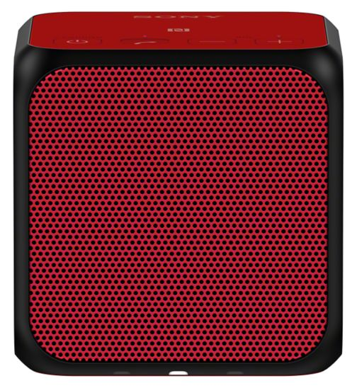 Sony Bluetooth NFC Speaker - Red