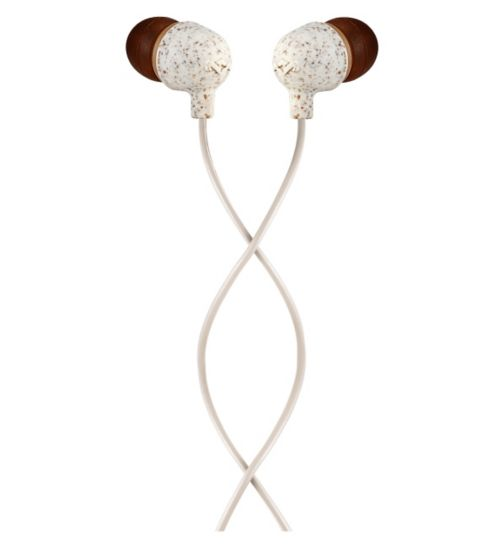 Marley Little Bird In-Ear Headphones - Cream