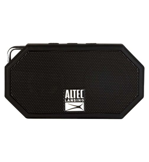Altec Lansing iMW257 Mini H2O Bluetooth Wireless Speaker- Black
