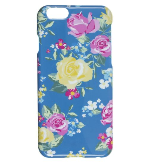 Trendz iPhone 6 Yellow Rose Hardshell Phonecase