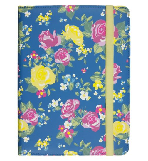 Trendz 6-8in Universal Yellow Rose Tablet Cover