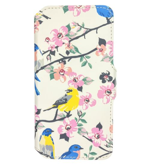 Trendz iPhone 6 Vintage Bird Folio Phone Cover