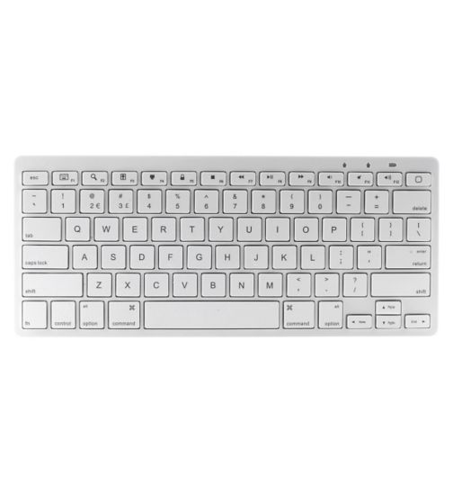 Kit Bluetooth Keyboard - White