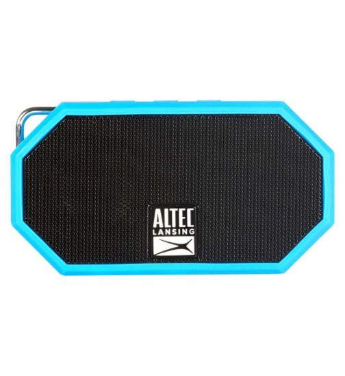 Altec Lansing iMW257 Mini H2O Bluetooth Wireless Speaker - Blue