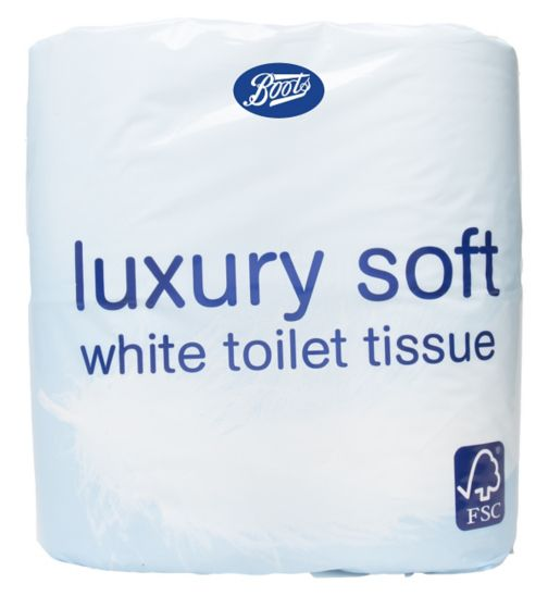 Boots Toilet Tissue Luxury 4 pack