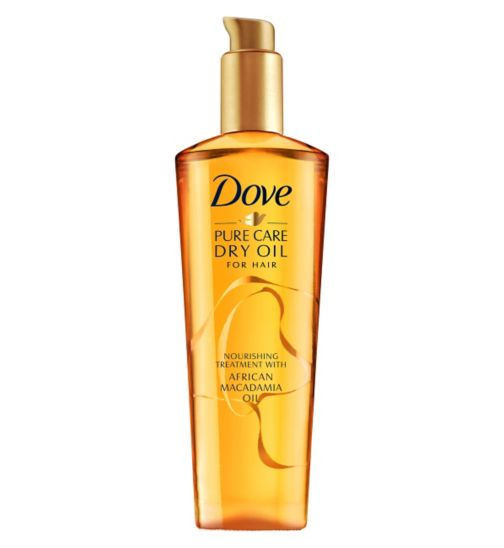 Dove Advanced Hair Series TREATMENT Pure Care Dry Oil 100ml