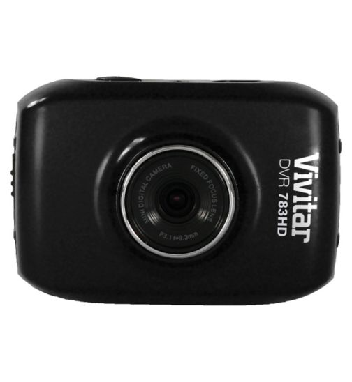 Vivitar DVR783HD, 5mp, 1.8inch LCD, Action Cam - Black