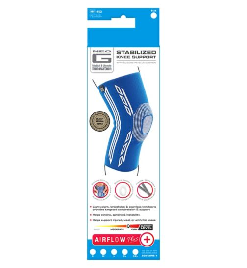 Neo G Airflow Plus Stabilized Knee Support - Extra Large