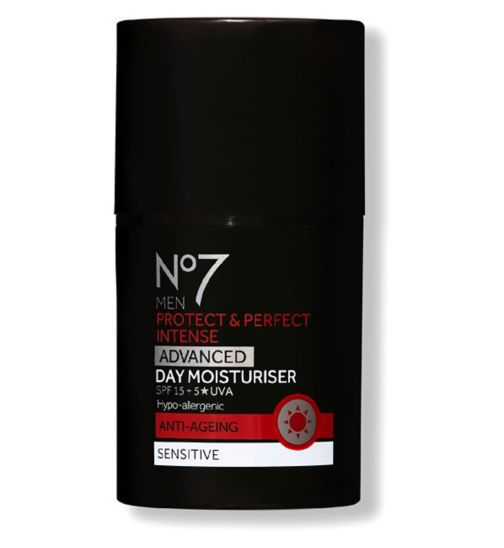 No7 Men Protect & Perfect Intense ADVANCED Day Moisturiser SPF15