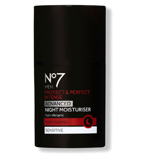 No7 Men Protect & Perfect Intense ADVANCED Night Moisturiser