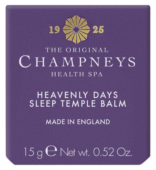 Champneys Heavenly Days Sleep Temple Balm 15ml