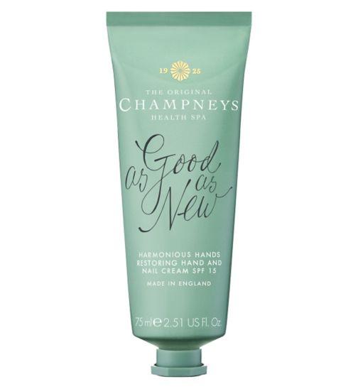 Champneys Harmonious Hands Restoring Hand & Nail Cream 75ml