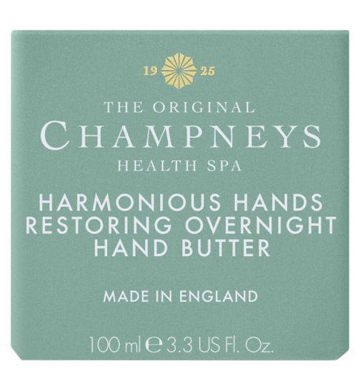 Champneys Harmonious Hands Restoring Overnight Hand Butter 100ml