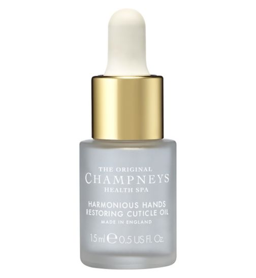 Champneys Harmonious Hands Restoring Cuticle Oil 15ml
