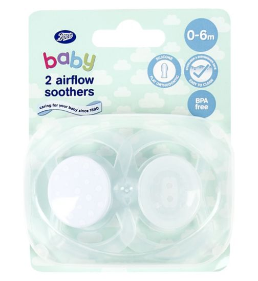 Boots Baby Airflow Soothers 0-6m