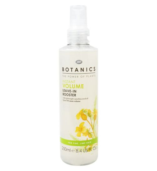 Botanics Volume leave in booster
