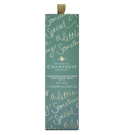 Champneys Harmonious Hands Restoring Hand & Nail Cream 125ml SPF 15
