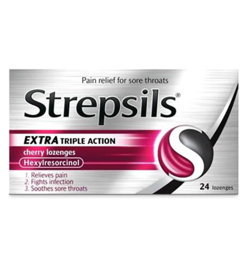 Strepsils Orange with Vitamin C 100mg Lozenges ...