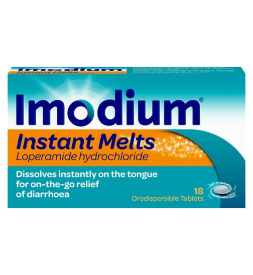 Imodium Instant Melts in the Mouth Tablets x 18
