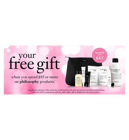 Philosophy Skincare gift