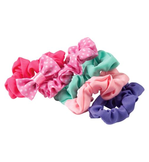 Scunci Girl Scrunchies Pastel 5 pack