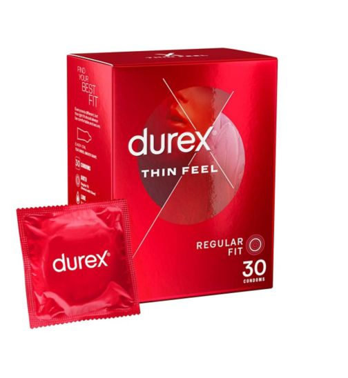 Durex Condoms Thin Feel - 30 Condoms