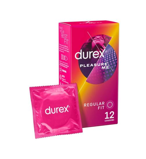 Durex Condoms Pleasure Me - 12 condoms
