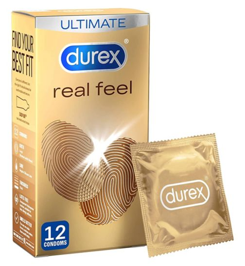 Durex Condoms Real Feel - 12 condoms