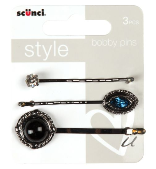 Scunci Style Bobby Pins 3 pack