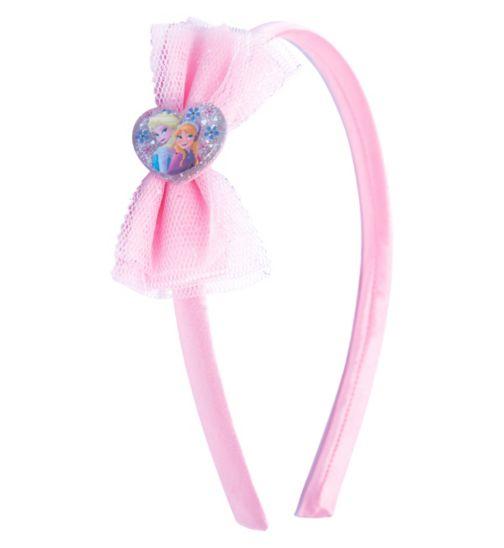 Frozen Glitter Bow Headband