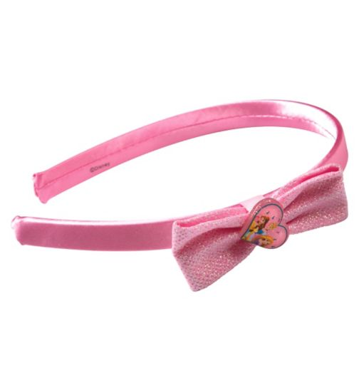 Princess Glitter Bow Headband