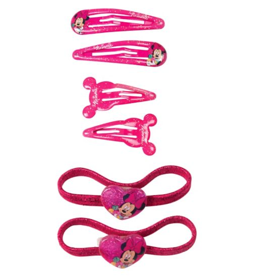 Minnie Mouse Hair Set 6 Pack