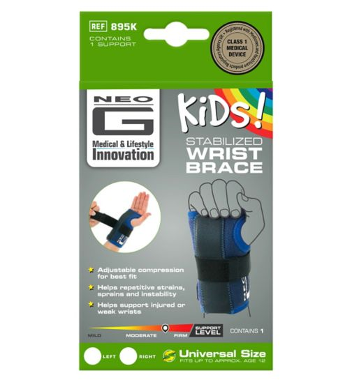 Neo G Kids Stabilized Wrist Brace - Left
