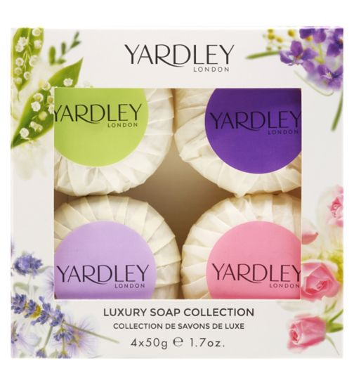 Yardley London Guest Soap Set