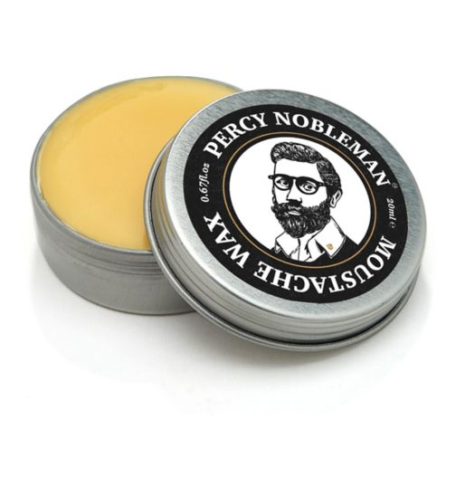 Percy Nobleman's Moustache Wax 20ml