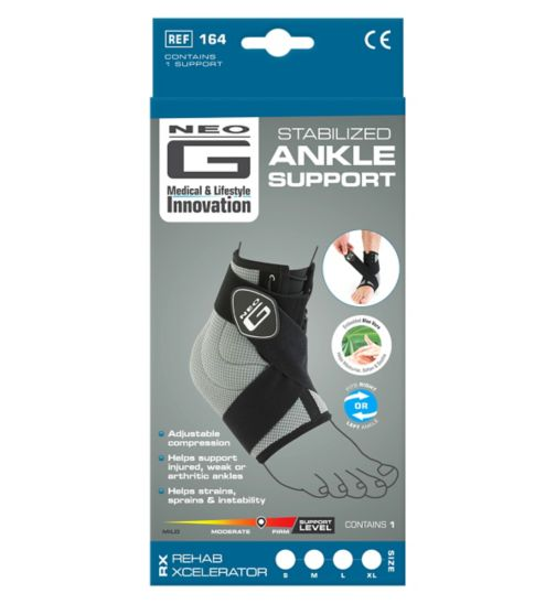 Neo G RX Stabilized Ankle Support - Large