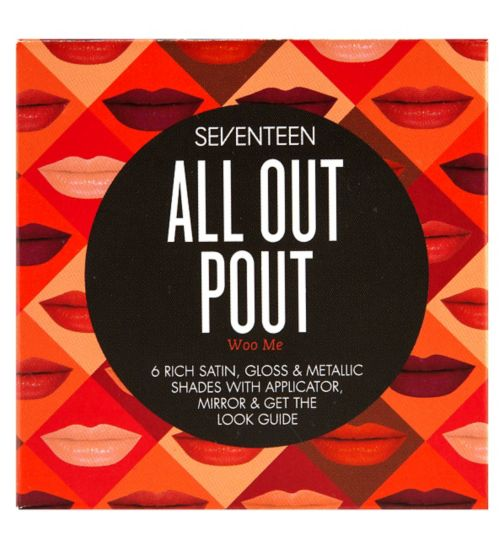 SEVENTEEN All Out Pout Lip Palette Woo Me