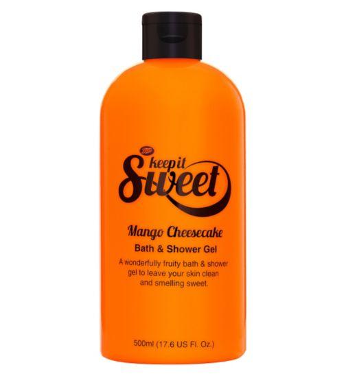 Boots Keep It Sweet Mango Cheesecake Bath & Shower Gel
