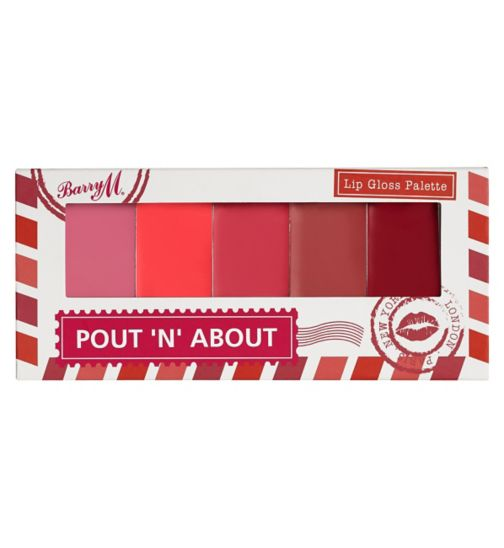 Barry M Pout and About lip gloss palette