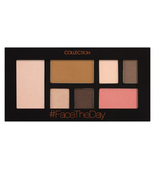 Collection #FaceTheDay Face Palette