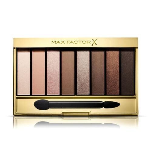Max Factor Masterpiece Nude Palette Contouring Eyeshadows 01 Cappucino Nudes