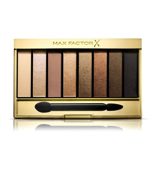 Max Factor Masterpiece Nude Palette Contouring Eye Shadows 02 Golden Nudes